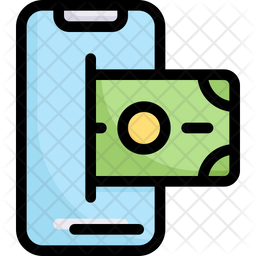 Online Payment Colored Outline Icon