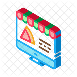 Online Pizza Order Icon