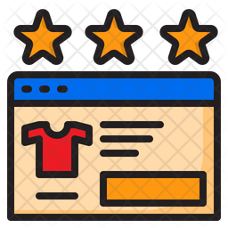 Online Product Rating Icon