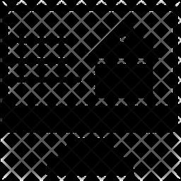 Online Property Glyph Icon