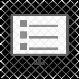 Online schedule Icon