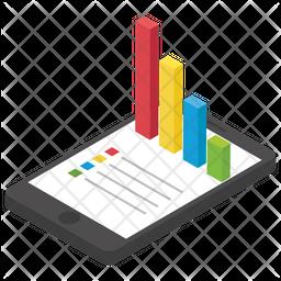 Online Statics Isometric Icon