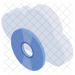 Online Storage Isometric Icon