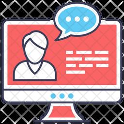Online Training Icon