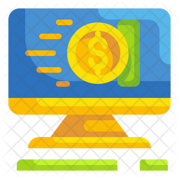 Online transaction Icon