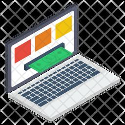 Online Transaction Icon