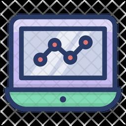 Online Web Statistics Icon