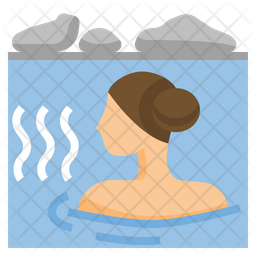 Onsen Icon Of Flat Style Available In Svg Png Eps Ai Icon Fonts