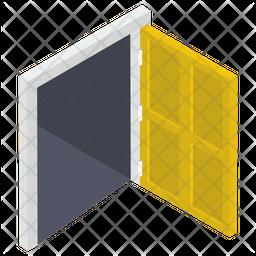 Open House Door Icon