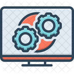 Operation Process Icon