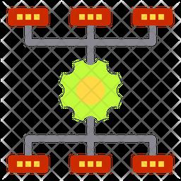 Optimization Flow Icon