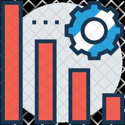 Optimize Graph Icon