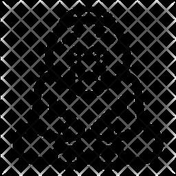 Orangutan Icon