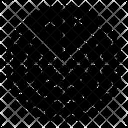 Orbit Glyph Icon
