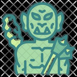Orc Dualtone Icon