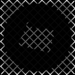 Oregon Glyph Icon