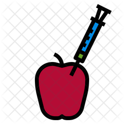 Organic Fruit Icon Of Colored Outline Style Available In Svg Png Eps Ai Icon Fonts