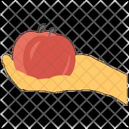 Organic Fruit Icon