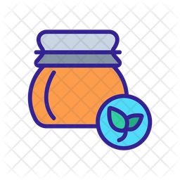 Organic Honey Icon