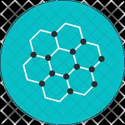 Organic Molecule Icon