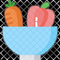 Organic Vegetables Icon