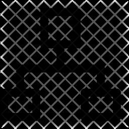 Organization Line Icon