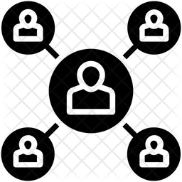 Organization Glyph Icon