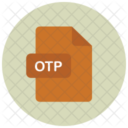 Otp Flat Icon