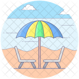Outdoor Sitting Icon