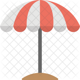 Outdoor Umbrella Icon