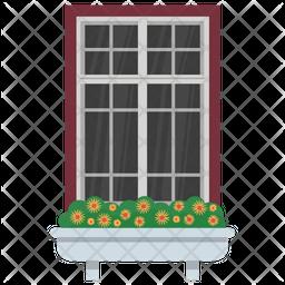 Outdoor Window Icon