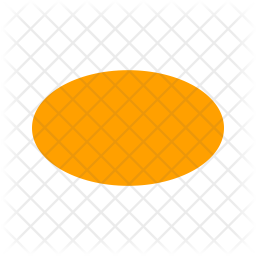 Oval Flat Icon