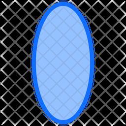 Oval Dualtone Icon