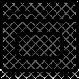 Oven Line Icon
