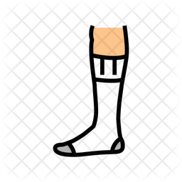 Over sock Icon