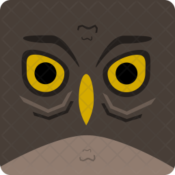 Owl, Halloween, Spooky, Seasonal Icon