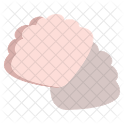 Oyster Flat Icon