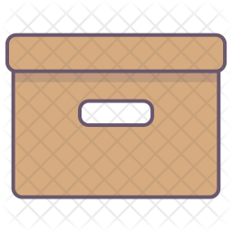 Pack, Package, Box, Delivery, Parcel, Office Icon png