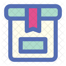 Package Colored Outline Icon