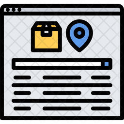 Package tracking Icon