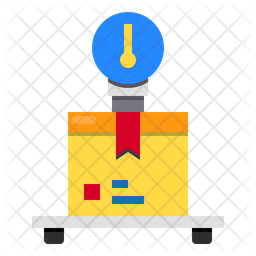 Package Weight Scale Icon