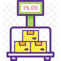 Packages Weighing Icon