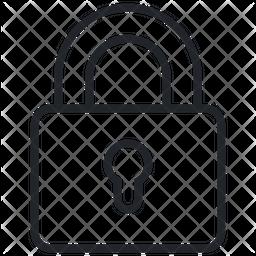 Padlock Line Icon