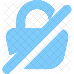Padlock, Locked, Lock, Security, Data, Information, Blocked, Disabled, Unlockled Icon png