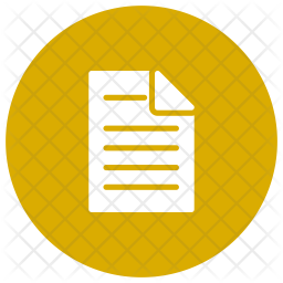 Page Glyph Icon