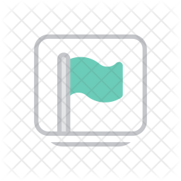 Page feed Colored Outline Icon