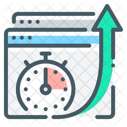 Page Speed Optimization Icon