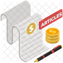 Paid For Articles Icon