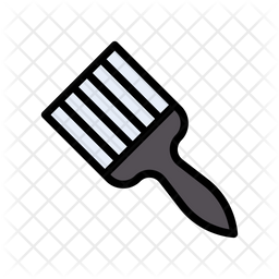 Paint Brush Icon Of Colored Outline Style Available In Svg Png Eps Ai Icon Fonts