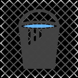 Paint bucket Flat Icon